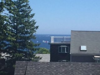 Landmark House: Hilltop views of Sandy Bay and the Atlantic Ocean, Rockport