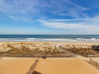 Updated beachfront condo with sweeping ocean views and plenty of room