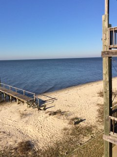 Sink your toes into the warm sands of the Gulf of Mexico when you stay in this lovely Ocean Springs vacation rental.