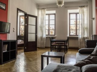 Rynek Jazz apartment in Stare Miasto with WiFi.