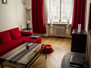 Zapiecek apartment in Stare Miasto with WiFi., Warschau