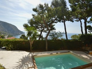 Stunning Villa Sea View with Pool between Nice and Monaco, Eze