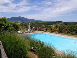 Stone farmhouse with private pool in a large property