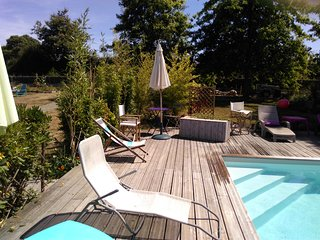 Gîte dans propriété privée avec wifi et piscine chauffée