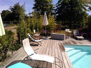 Gite dans propriete privee avec wifi et piscine chauffee
