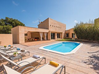 Nice stone country house with pool in Son Servera