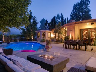 Trousdale Luxury Estate Home with Tennis Court, Pool, and Hot Tub