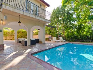 Studio City Spanish Villa with Multiple Balconies, Pool, and Close to the Action