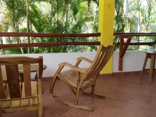 VILLAS VERDES (V4) - upper floor, large balcony and lush greens, 24-hr security