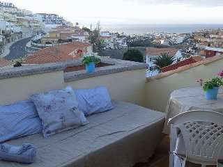 Gran Canaria: Roof-terrace - sunny, great view, Arguineguin