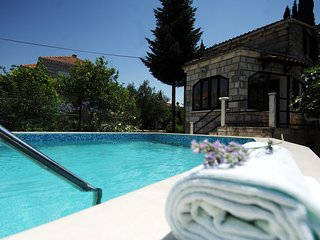 Villa Marty - One Bedroom Villa with Terrace and Swimming Pool, Cilipi