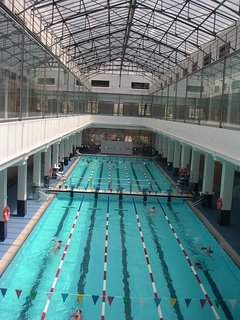 Olympic pool -Centro Supera 190m. Three other pools, Turkish baths, sunbathing terraces etc