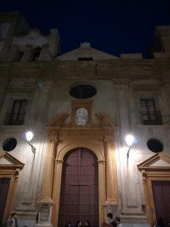 Chiesa della Mazza lungo via Maqueda