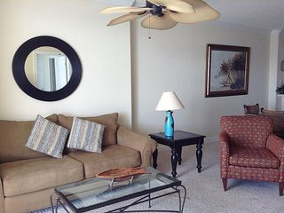 Emerald Isle Unit 1308  Wake up to a Gulf Front View! Sleeps 6