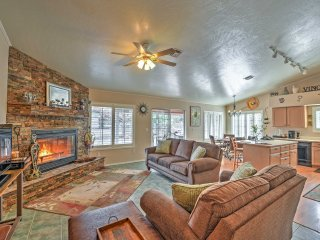 Show Low House Near Hiking & Biking Trails!