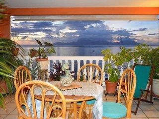 Appartement Aute - bord de lagon, vue mer et piscine - 3 chambres - 10 pers
