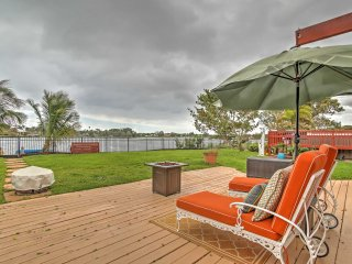 NEW! Delray Beach Studio w/Dock, Swim Spa & Lake Ida Views, Boynton Beach