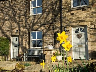 BEACON COTTAGE, very well-appointed cottage, open fire, walks from door, village