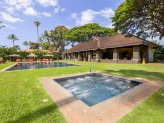 Infinity Saltwater Pool-Min to Beach-Steps to Lahaina-Free WiFi