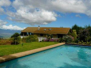 Private Home w/ Pool; Fruit Trees & Coastal Views, Near Haleakala National Park!, Kula