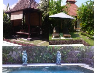 Private Villa Ubud.Wifi.Pool.For coupe with child