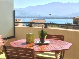 appartement Calvi , 2 pieces, vue mer ,  WIFI