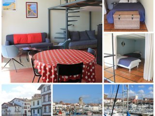 Beautiful loft in the olde center of Ciboure/ Saint Jean de Luz