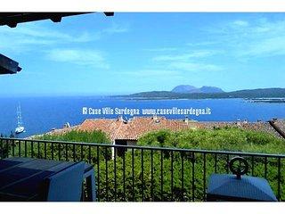 Appartamento con meravigliosa vista mare nel residence con piscina., Porto Rotondo
