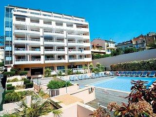 Charmant F1 dans résidence avec piscine, Cannes