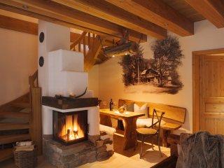 Exclusives 5* Ilse- Chalet mit Sauna und gemauerten Kamin