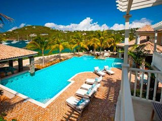 Luxury 9 bedroom St. John villa. A unique and matchless Caribbean villa