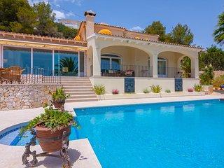 Villa Felicidad en Benissa,Alicante para 6 huespedes