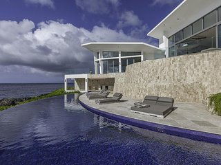 Luxury 5 bedroom Anguilla villa. Modern, spacious with panoramic views of the