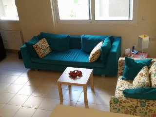 Elegant 1bedroom apartment with free parking spot, Heraklion