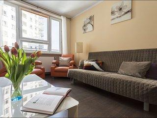 Arkadia 11 apartment in Nowe Miasto with WiFi & lift.