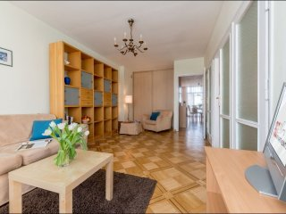 Dluga apartment in Nowe Miasto with WiFi & balcony.