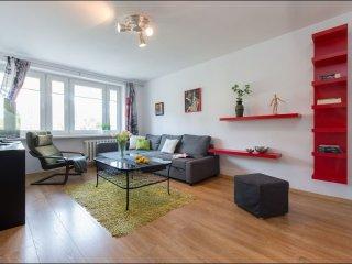 Emilii Plater apartment in Stare Miasto with WiFi.