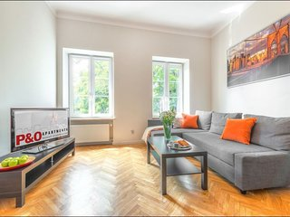 Freta Studio apartment in Nowe Miasto with WiFi.