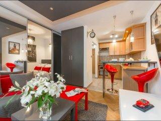 Emilii Plater 2 apartment in Stare Miasto with WiFi.