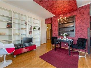 Marina Mokotow apartment in Mokotów with WiFi, privéparkeerplaats, balkon