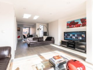 Spacious Stunning London Penthouse apartment in Tower Hamlets with WiFi & balcon