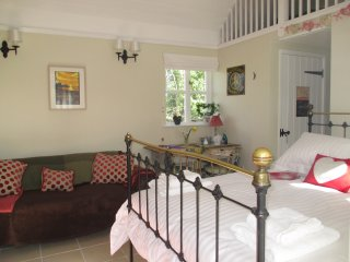 The Cwtch at Caerwedros.  Pet friendly, close to coastal path and beaches.