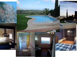 Impresionantes vistas  piscinas 1para niños, a 20 minutos  Denia y Xabia (Javea)
