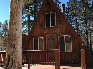 Cozy Rustic Cabin in Big Bear City (Sugarloaf Heights)