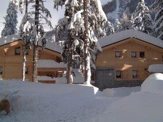 Chalet sur les pistes, avec spa, à Chamonix-Argent, Argentiere