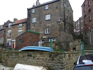 Potter's Corner.chapel yard.staithes