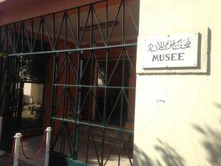 Le musée des ruines romaines à 100 mètres de l'appartement