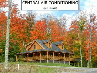 11 Acre Lake  -  North Lake Cabin - Central Air Conditioning