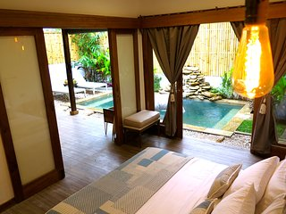 CASA KOKO - 1BR villa with private swimming pool in the heart of Gili Air