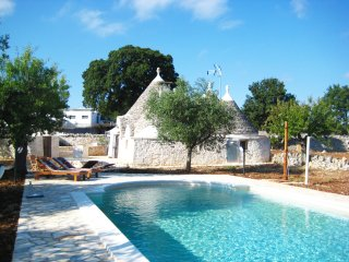 "Exclusive ""Trullo Stefano"" with private pool at 20km from stunning beaches"